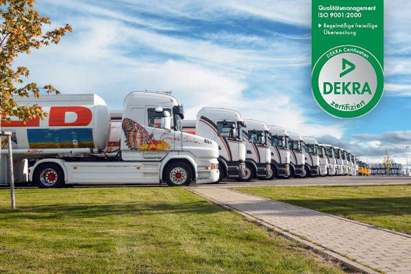Wahr Energie Heizöl LKW Flotte
