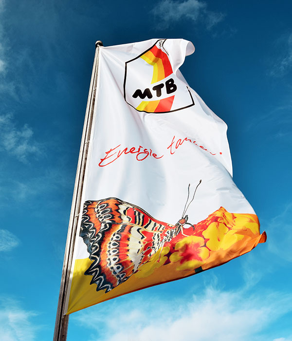 MTB Flagge » Fritz Wahr Energie