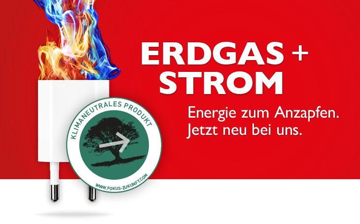 Erdgas und Strom mit Siegel Klimaneutralem » Wahr Energie