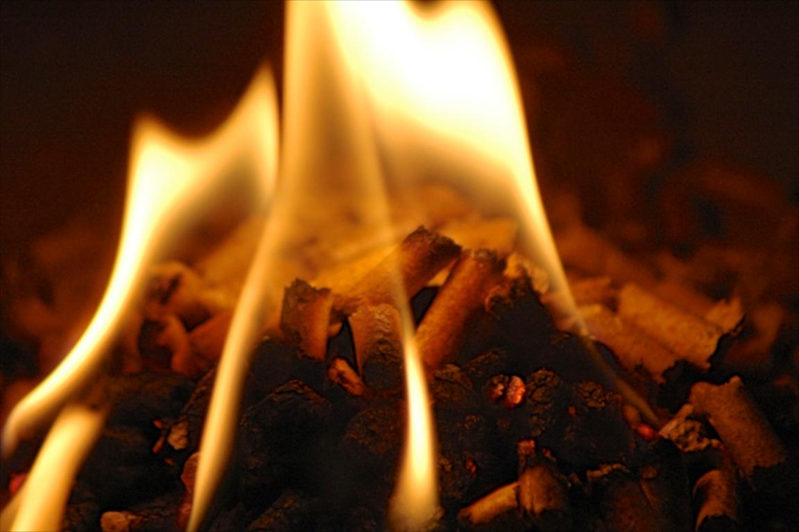 Feuer Pellets