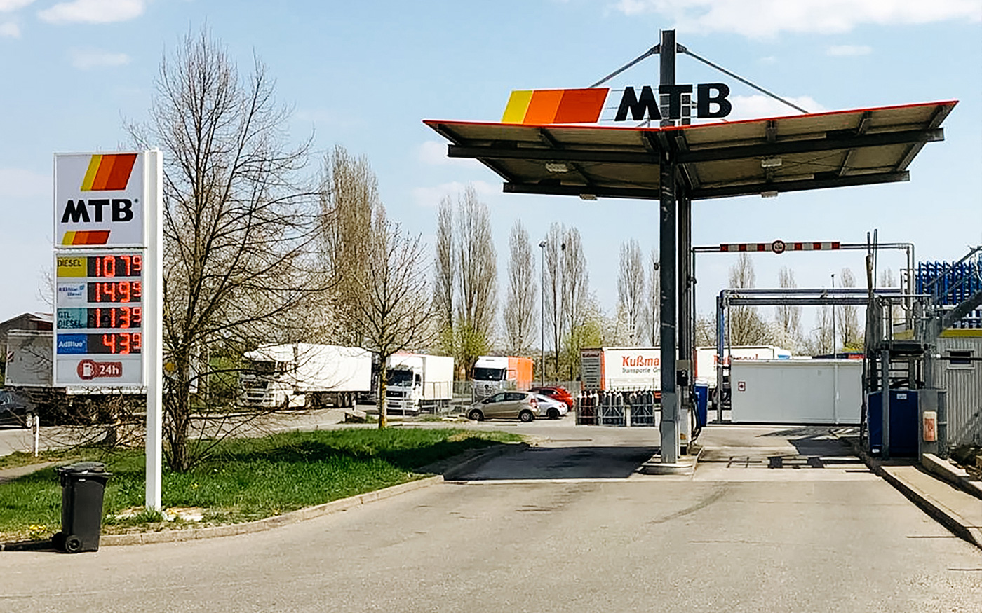 Tankstelle MTB