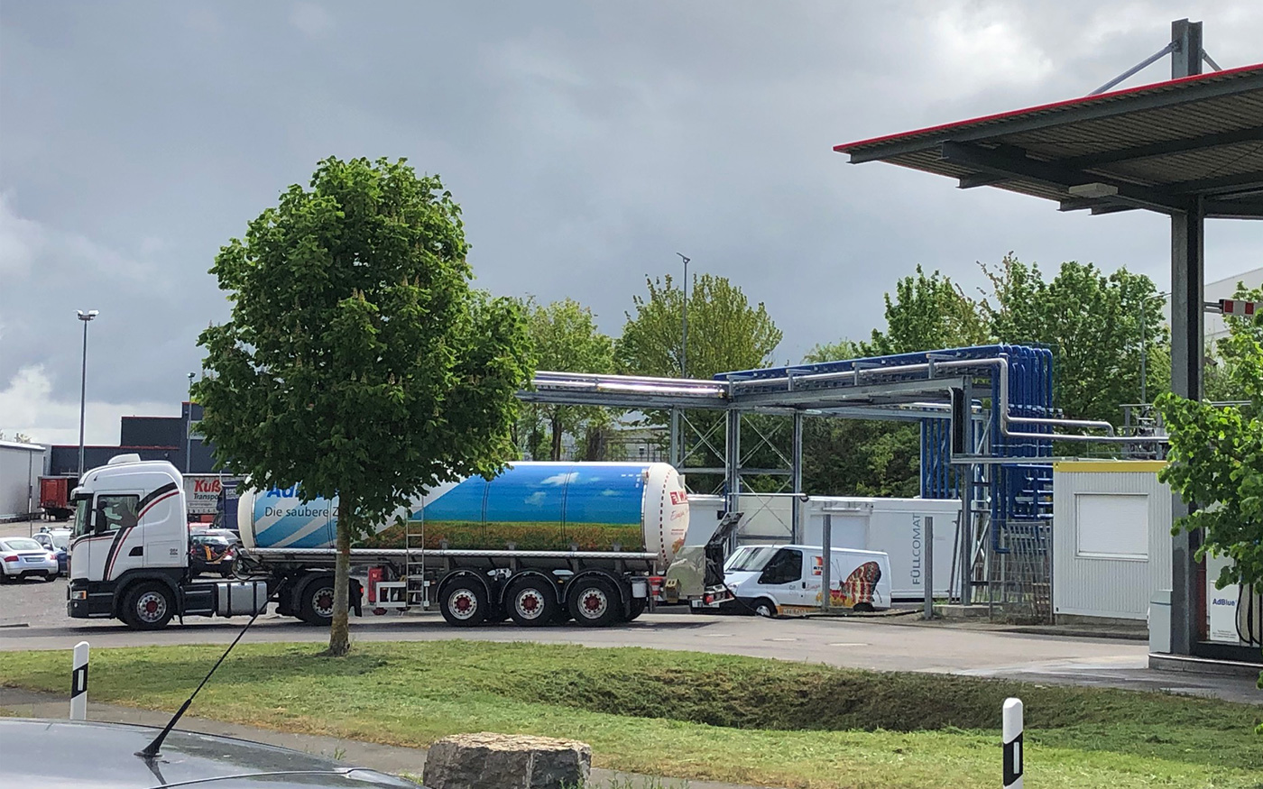 Tanklager und Automatentankstelle in Bondorf