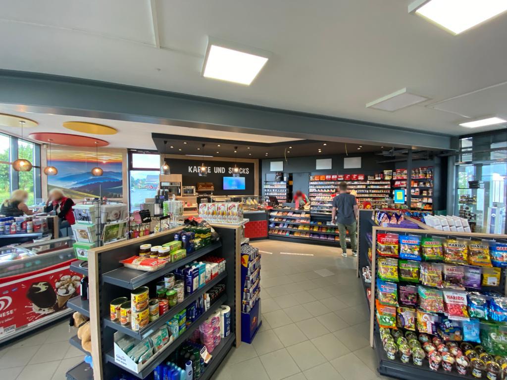 Tankstellen-Shop